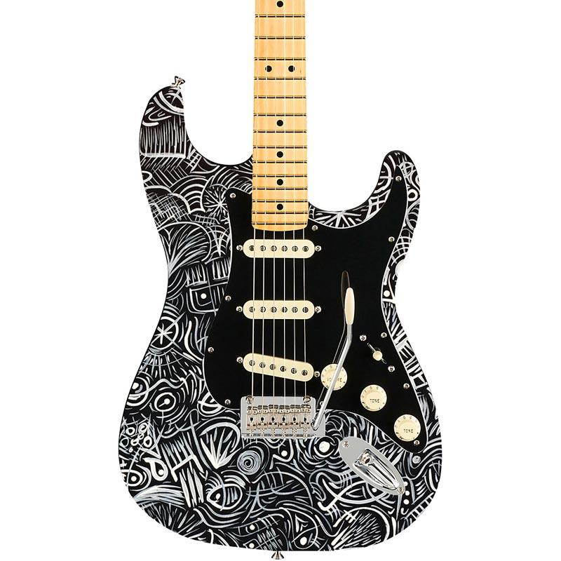 Phoenix Arts Europe Fender Stratocaster marcel Aragones acrílicos acrylics DIY guitarra decoración