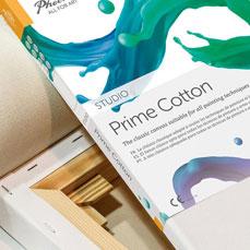 Phoenix Arts Canvas Prime Cotton Front